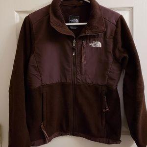 North Face Brown Fleece Jacket